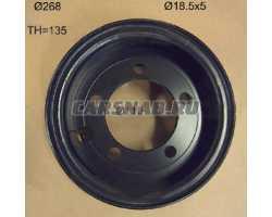 Диск колесный 140/55-9 582001998 YALE