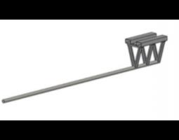 Консоль навесная на вилы ТКР 3000/4В: