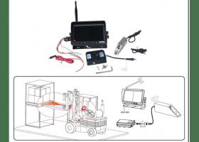 Беспроводная Видеокамера для погрузчика