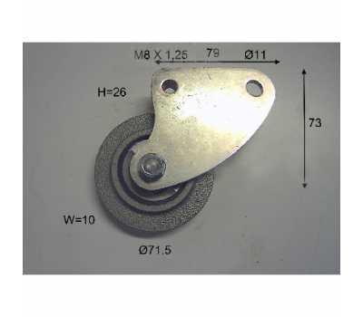 Ролик натяжения ремня вентилятора LPK00057, Combilift