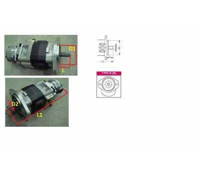 Насос гидравлический 3EC6039920 Komatsu